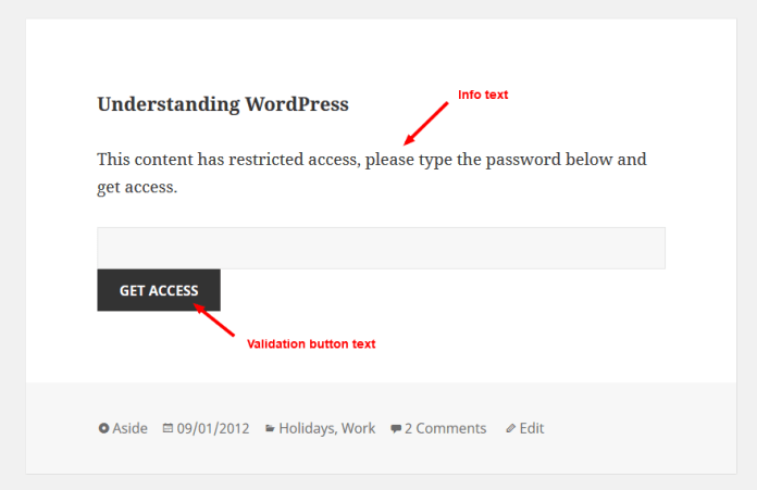Tips to Password Protect WordPress Content