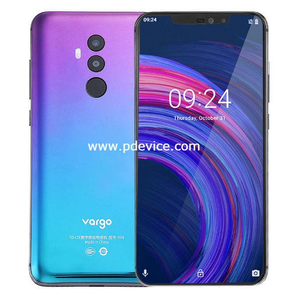 Vargo VX4 Smartphone Full Specification