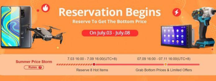 Banggood Summer Prime Sale 2020