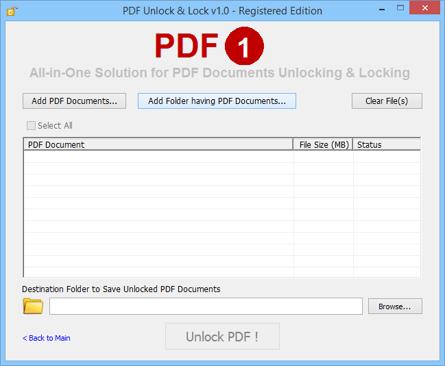 PDF Lock Unlock ~ Key to Unlock PDF Lock PDF files