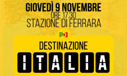 Matteo Renzi a Ferrara per Destinazione Italia