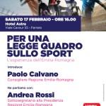 PER UNA  LEGGE QUADRO SULLO SPORT: l'esperienza dell'Emilia-Romagna