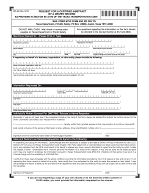 Department Of Motor Vehicles Texas Forms | caferacer.1firts.com