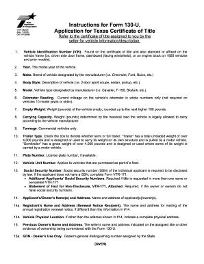 Texas Motor Vehicle Transfer Notification Vtr 346   caferacer ...