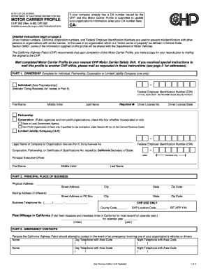 Ca Dmv Motor Carrier Permit Application | caferacer.1firts.com