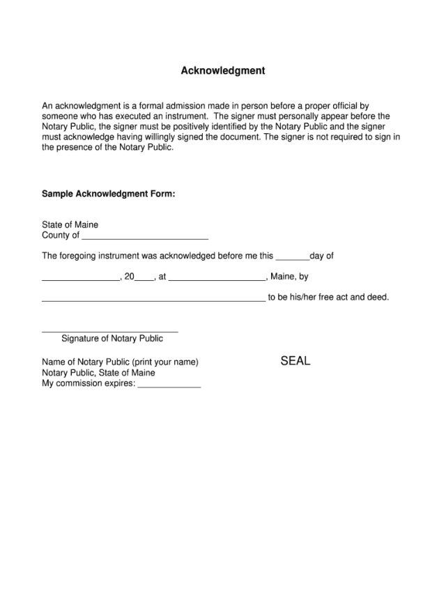 Printable Notary Forms - Fill Online, Printable, Fillable, Blank