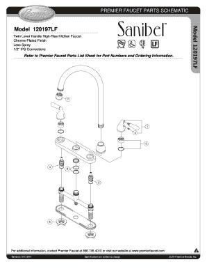 premier faucet parts schematic fax