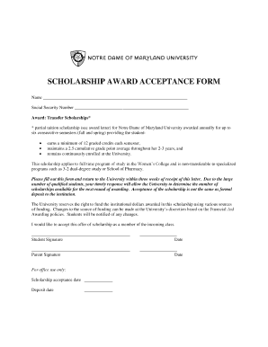 9 Printable Letter Of Acceptance School