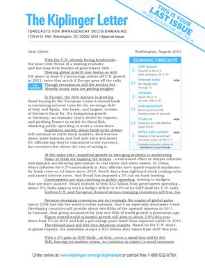 fillable online the kiplinger letter aug 5 2017 fax email print