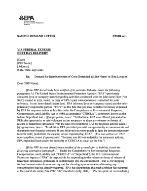 20 Printable Sample Demand Letter Forms