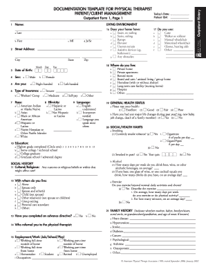 Click on the get form option to begin enhancing. Physical Therapy Evaluation Form Fill Online Printable Fillable Blank Pdffiller