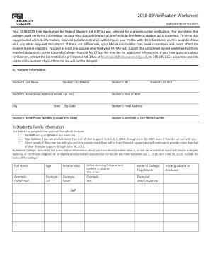 Fafsa 19 Application