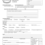 Fillable Online Installation Form Fax Email Print Pdffiller