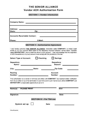 Employee direct deposit authorization form. Ach Direct Deposit Form Fill Online Printable Fillable Blank Pdffiller