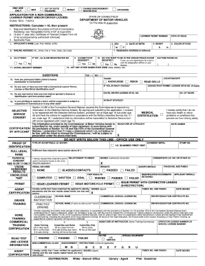 Department Of Motor Vehicles Ct Forms | caferacer.1firts.com