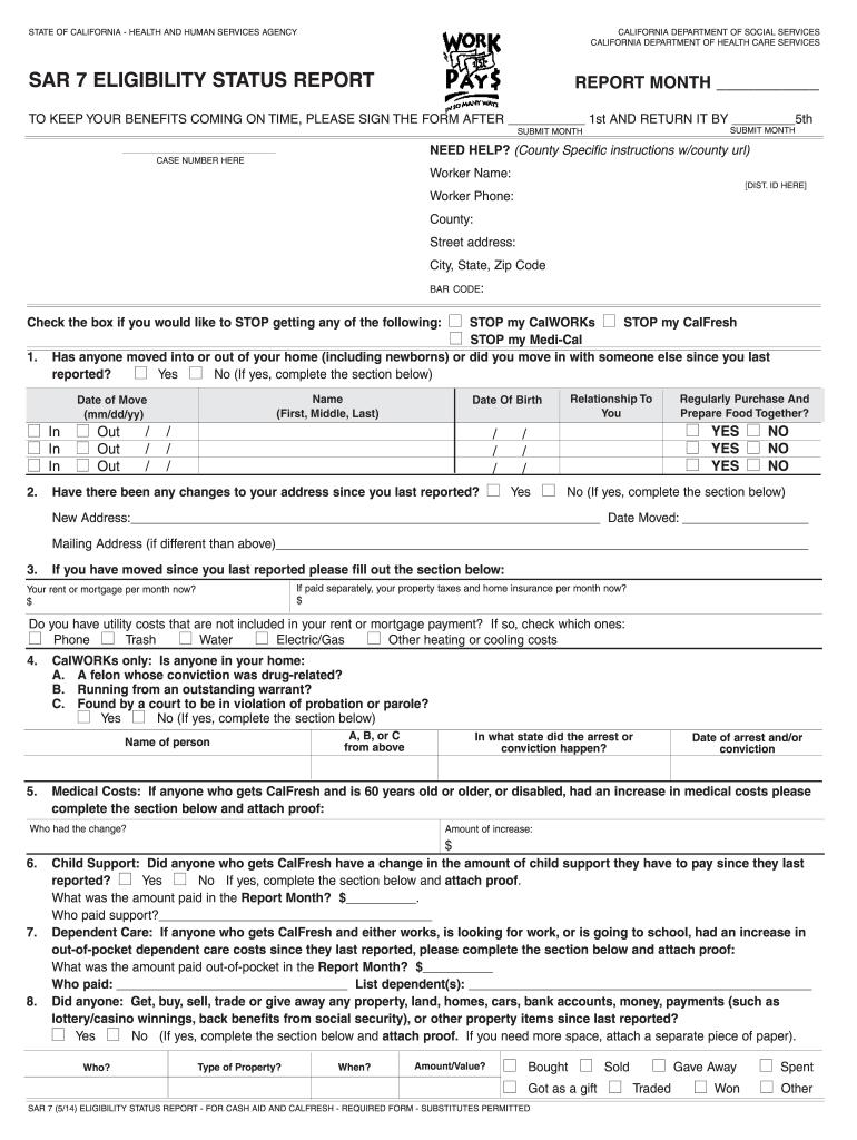 Quarterly Report Cash Aid And Calfresh