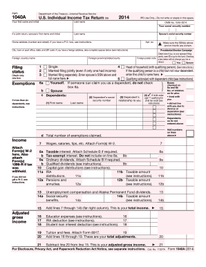 Form Irs A Fill Online Printable Fillable