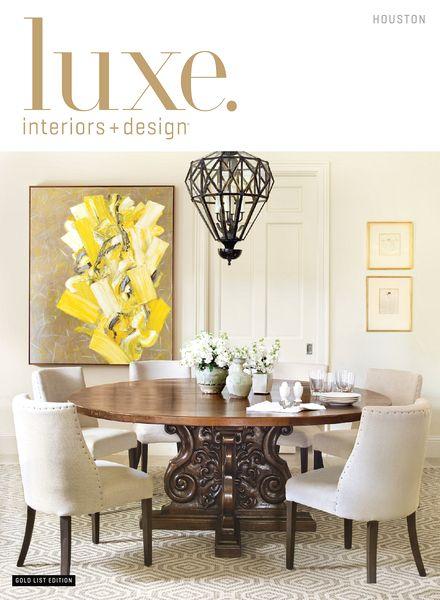 Luxe Interior Design Magazine