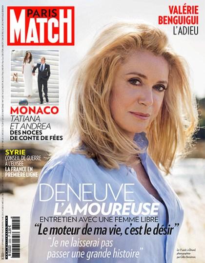 Paris Match Jeudi 5 Septembre 2013