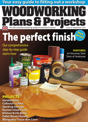 Woodworking Plans & Projects - September 2013