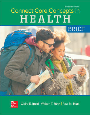 Connect Core Concepts in Health 16th Edition