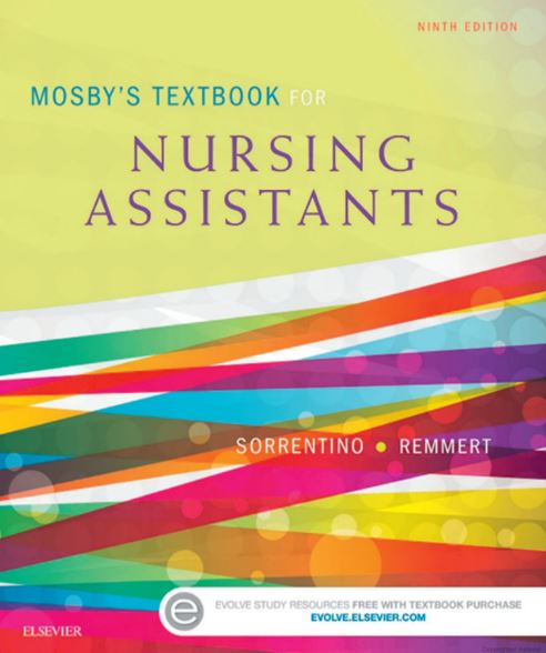 Mosby's Textbook for Nursing Assistants 9th edition pdf download