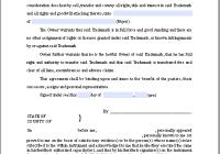 Trademark Assignment Certificate Template