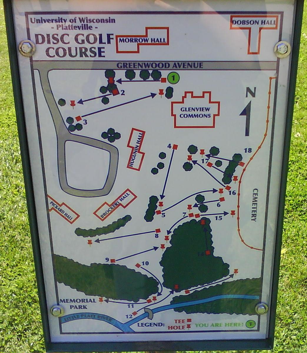 UW Campus Platteville Professional Disc Golf Association