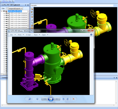 PDMS Macro Email Graphical View