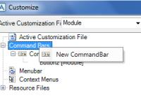 Make a New Keyboard Shortcuts in AVEVA PDMS Commandbar
