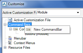 Make a New Keyboard Shortcuts in AVEVA PDMS Commandbar