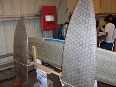 Cardboard surfboards
