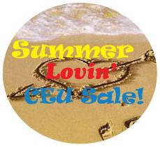 Summer Lovin' CEU Sale
