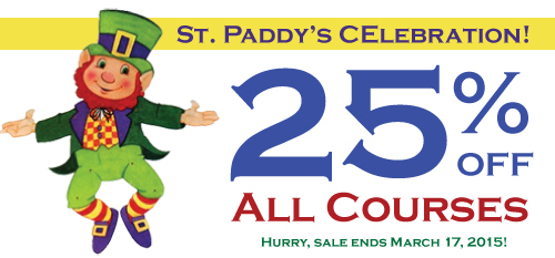 St. Paddy's CE Sale