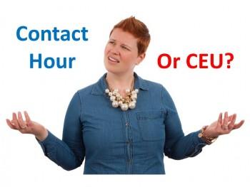 Contact Hour or CEU?