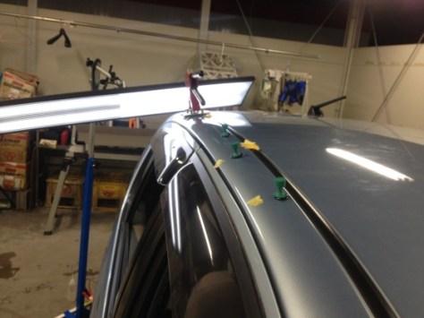 スバルR2雹害車両修理01