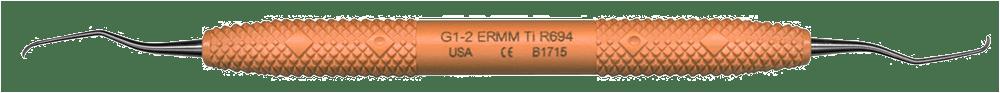 R694 Gracey 1-2 Titanium Extended Reach Micro Mini