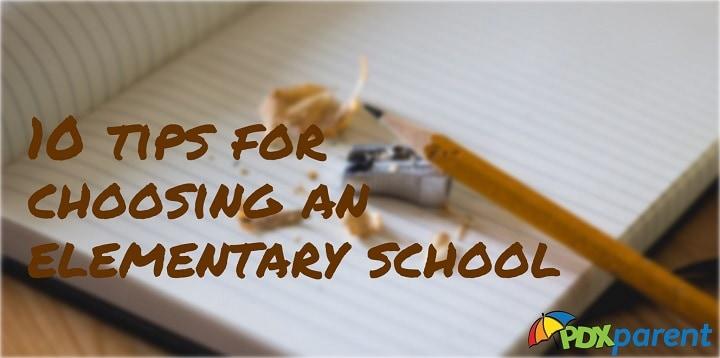 choosing a portland elementary school