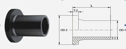 IPS Stub end/flange adaptor | Butt fusion fittings
