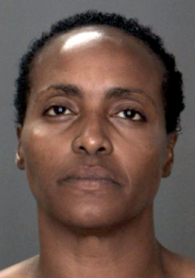 Nicole Darrington Clark, 43, was arrested early Tuesday, June 6, 2017, on suspicion of murder. Colton police say she killed her 18-month-old granddaughter and critically injured her daughter and another granddaughter in a stabbing attack Monday. (Photo courtesy of Colton Police Department)
