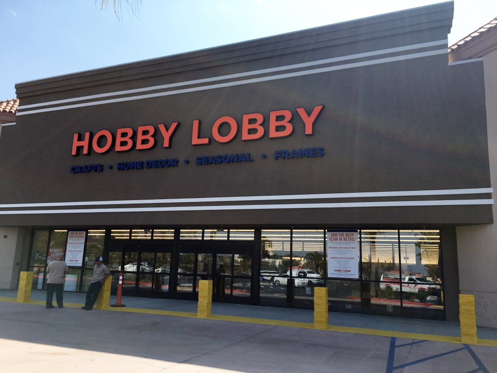 Riverside's new Hobby Lobby is already open - Press Enterprise on Hobby Lobby id=37206