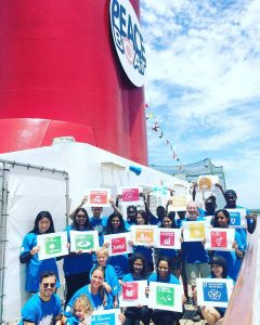 Peace Boat aims to be a flagship for the UN Sustainable Development Goals.