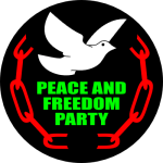 Peace and Freedom Party Logo