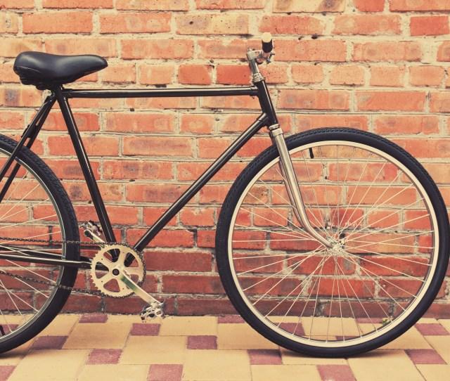 Womens Fixie Bike By Wall