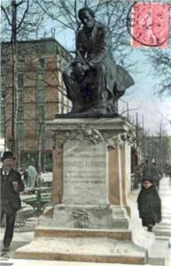 statue-de-Charles-Fourier--carte-postale