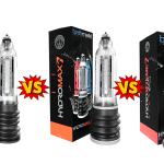 Hydro vs Hydromax vs HydroXtreme Comparison guide