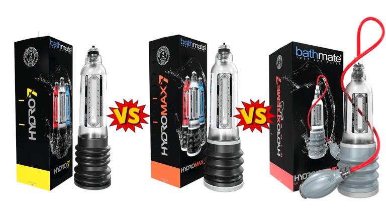Hydro vs Hydromax vs HydroXtreme Comparison by PBP Staff