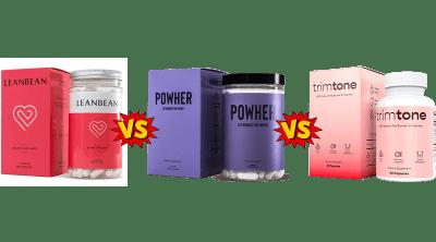 Leanbean vs Powher vs Trimtone Comparison Guide by PeaceBuildingPortal