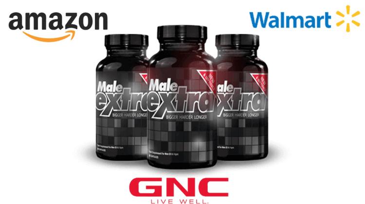 where to buy MaleExtra on Amazon, GNC or Walmart