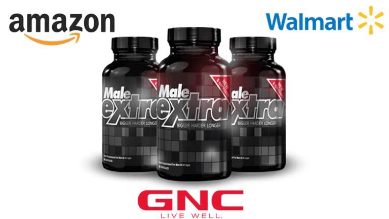 where to buy MaleExtra on Amazon, GNC, Walgreens or Walmart?